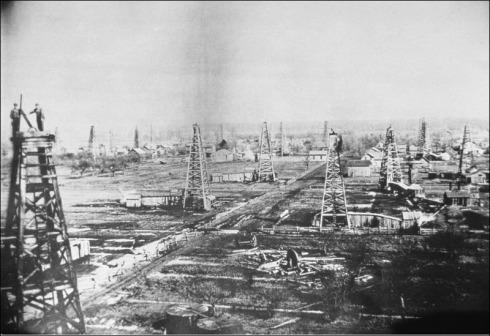 oil derrick town